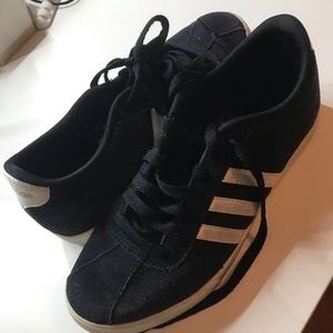 Adidas Courtset shoes in black